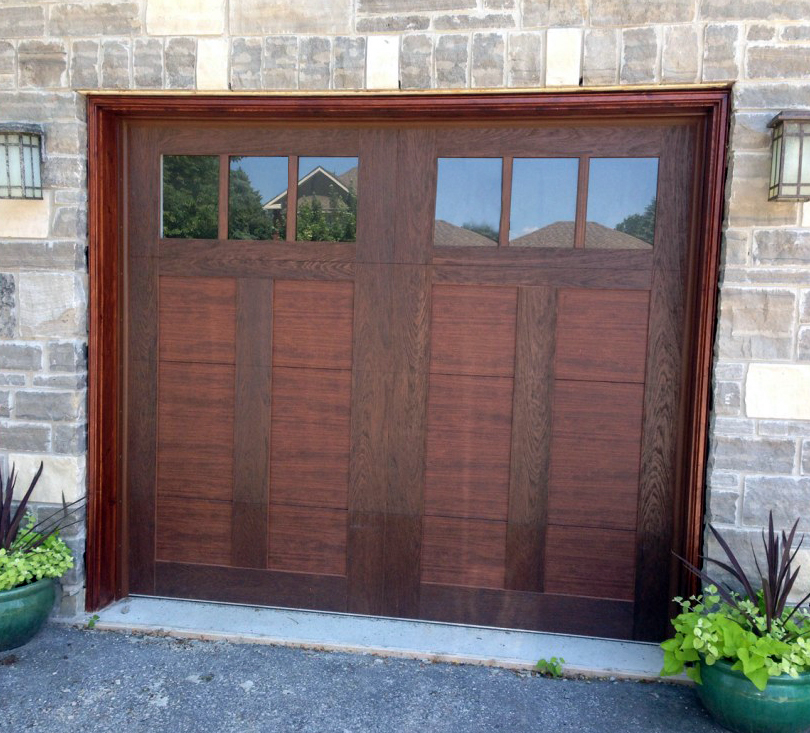 Canyon ridge garage door for Wind code garage doors