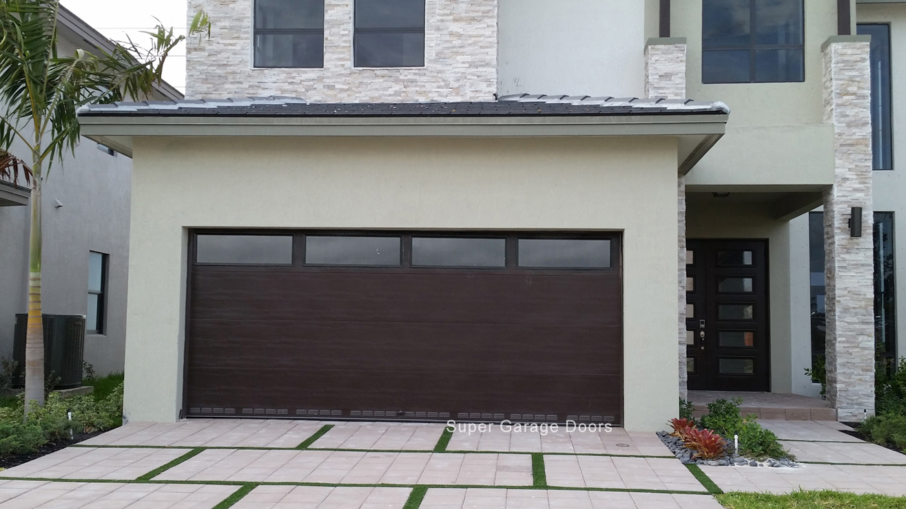 Modern Steel Garage Door